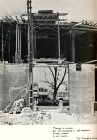 CONSTRUCTION OF THE NEW LIBRARY